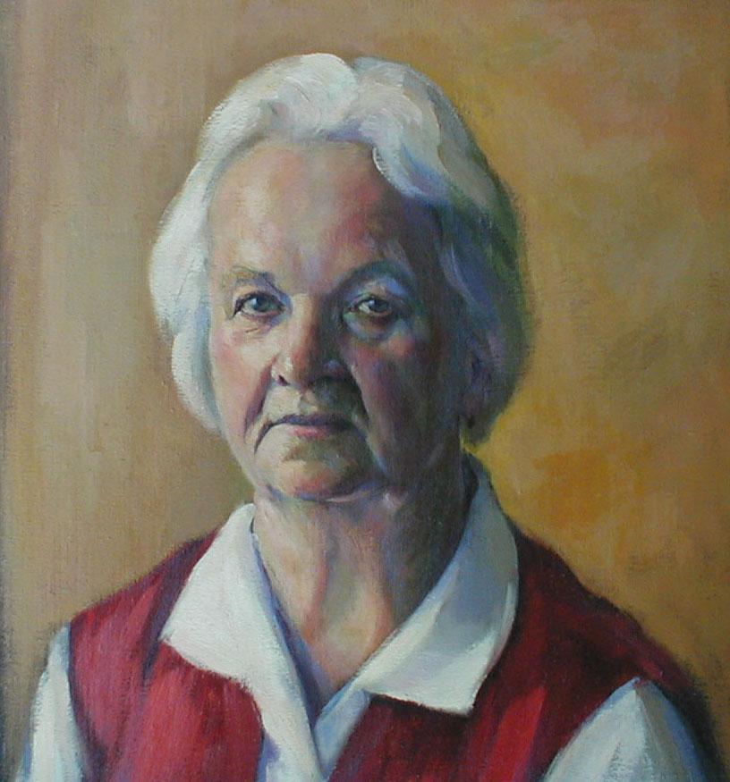 Portrét ženy 1986